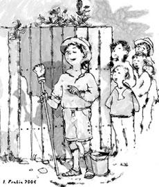 Твен Марк | Приключения Тома Сойера (отрывок) | Газета «Школьный ...