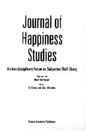 Обложка «Журнала исследований счастья»