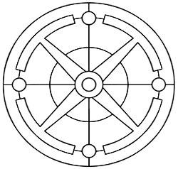 рис. 11. Седьмая стадия. «Оквадрачивание круга»