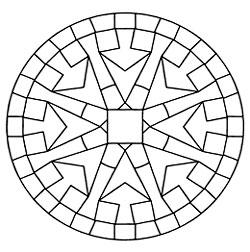 рис. 12. Седьмая стадия. «Оквадрачивание круга»